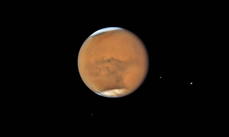 Marte oposición Tierra