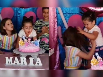 Ellas son las niñas que se volvieron virales por pelea durante cumpleaños
