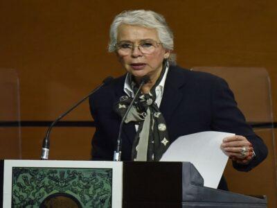 Olga Sánchez Cordero dijo que hay misoginia dentro del Gabinete
