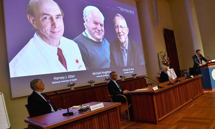 Otorgan premio Nobel de Medicina 2020 por descubrimiento del virus de la hepatitis  C - Uno TV