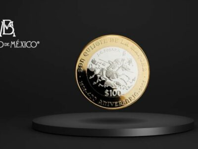 Banxico monedas de 100 pesos