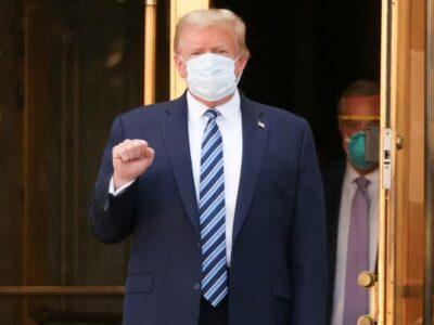 Donald Trump hospital COVID-19