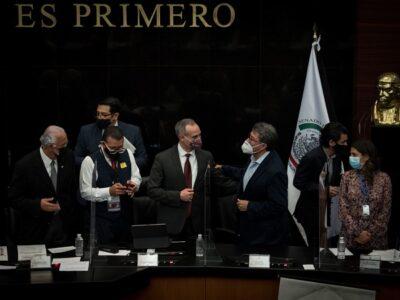 Hugo López-Gatell no finaliza comparecía en Senado; la concluyen por reclamos