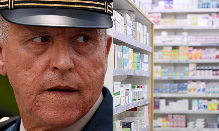 Cienfuegos medicamentos robados