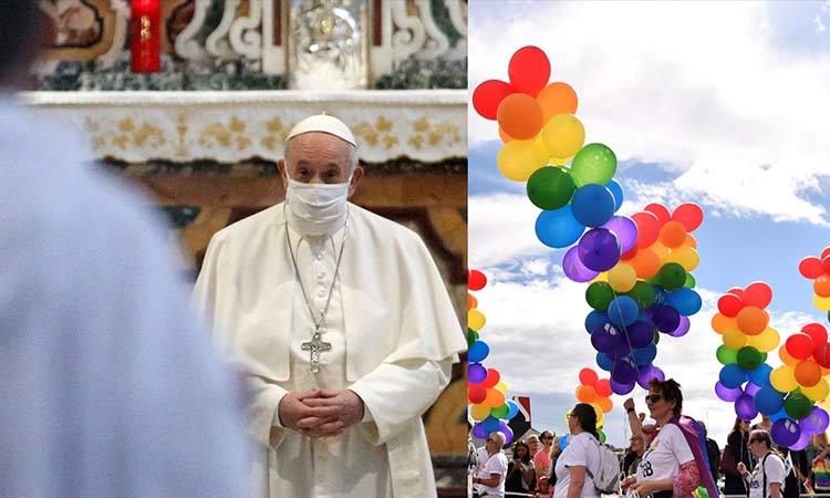 El Papa y las uniones homosexuales