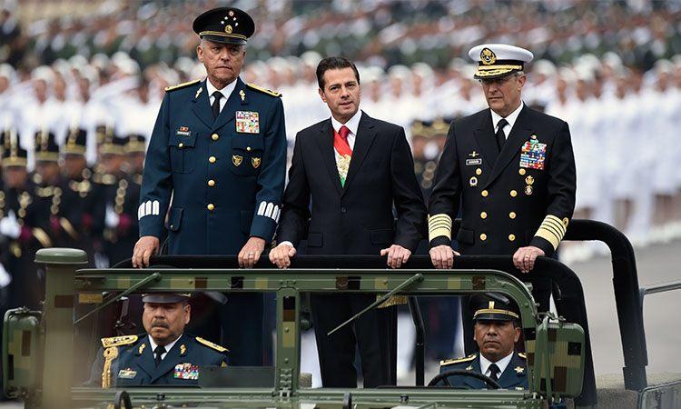 """La """"sacudida"""" que provocó la detención del general Salvador Cienfuegos"""