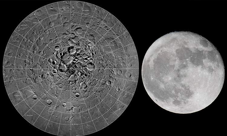 Luna Agua NASA