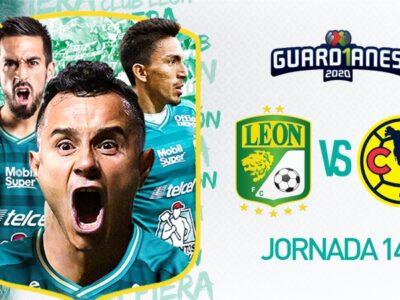 León vs América, en vivo y en directo el partido de la jornada 14 del Apertura 2020.