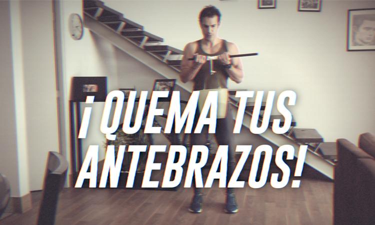 rutina antebrazos y bíceps