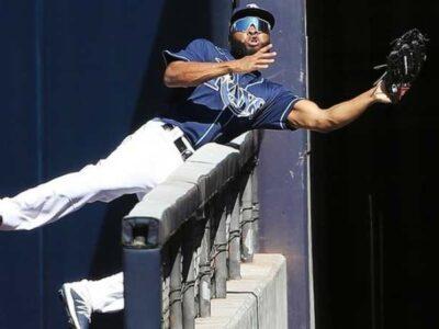 ¡Atrapadón del año en el béisbol!