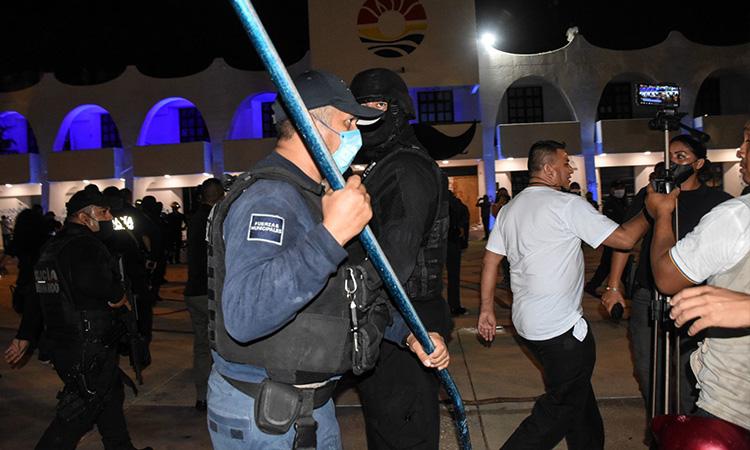 AMLO respalda a Segob; pide investigación sobre hechos en Cancún