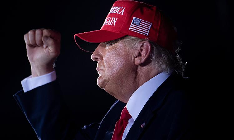 Donald Trump anuncia que resultados vendrán la próxima semana, se dice ganador