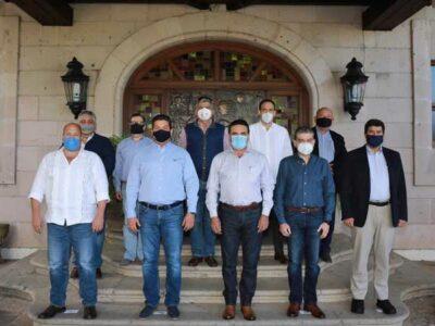 Gobernadores de Alianza Federalista pactan intercambio de medicamentos