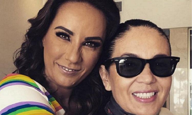 Consuelo Duval y Yolanda Andrade