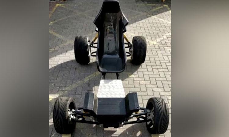 Auto eléctrico es impreso en 3D en el Reino Unido