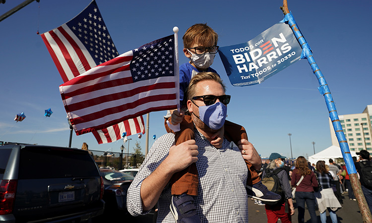 Seguidores de Biden toman las calles para festejar el triunfo - Uno TV