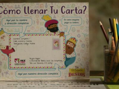 Correos de México recibirá cartas para Santa Claus y Reyes Magos
