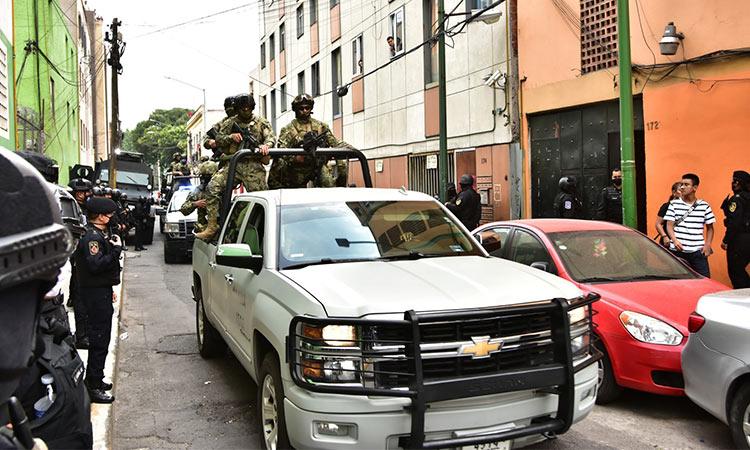 Revelan que estos grupos criminales operan en el centro de CDMX