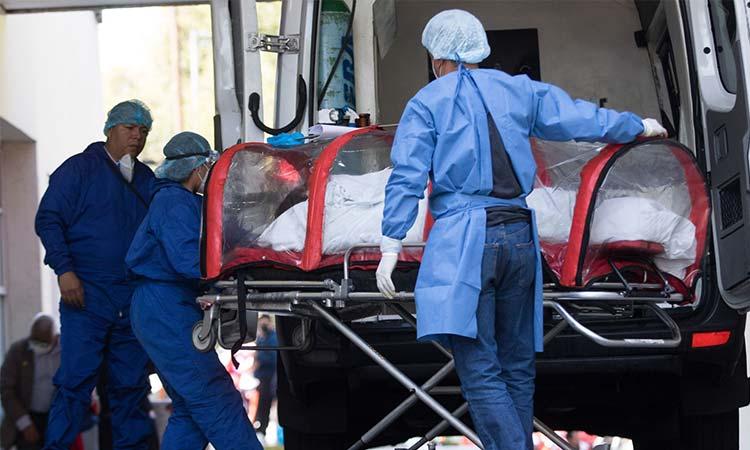 En diciembre hospitalizaciones por COVID-19 podrían regresar al límite máximo: Sheinbaum