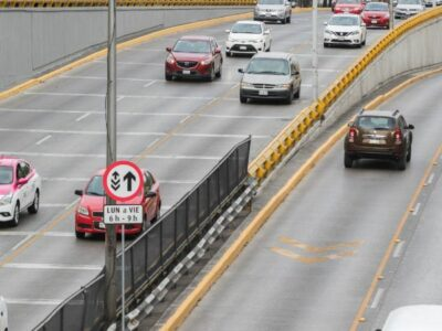 CDMX: Circuito Interior estrena carriles reversibles en estos tramos