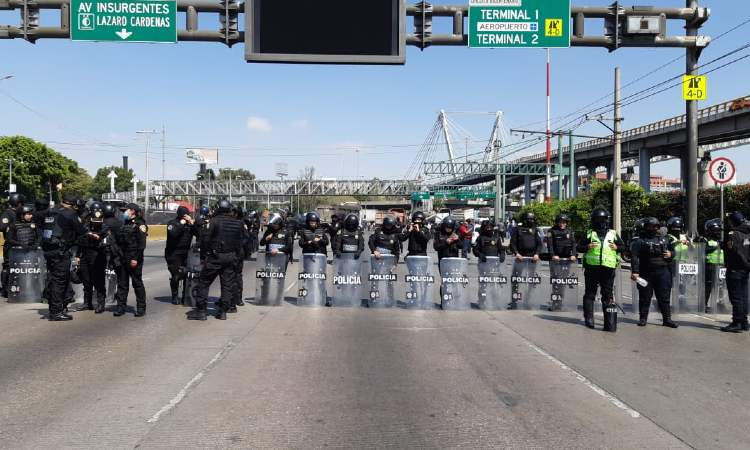 CDMX: Liberan Circuito Interior tras horas de bloqueos