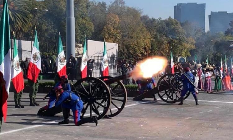 Desfile Revolución Mexicana: militares ensayan para el 20 de noviembre