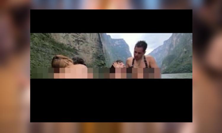 Chiapas: Graban escenas porno en Cañón del Sumidero