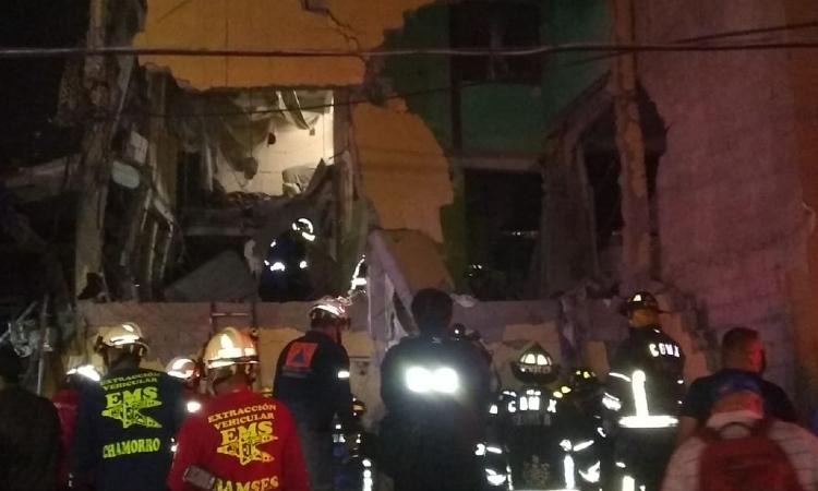 Explosión de gas en colonia Morelos deja al menos 2 muertos