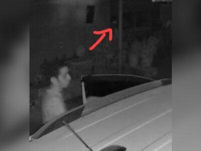 Joven de Monterrey capta en video a presunto fantasma