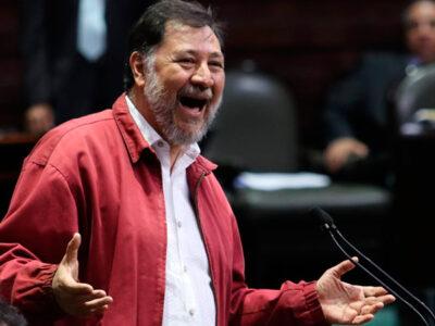 Fernández Noroña Cubrebocas