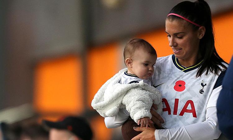 Fifa Maternidad Jugadoras Alex Morgan