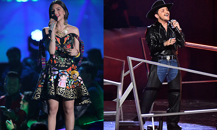 Christian Nodal y Ángela Aguilar pidieron permiso a Pepe Aguilar para dueto