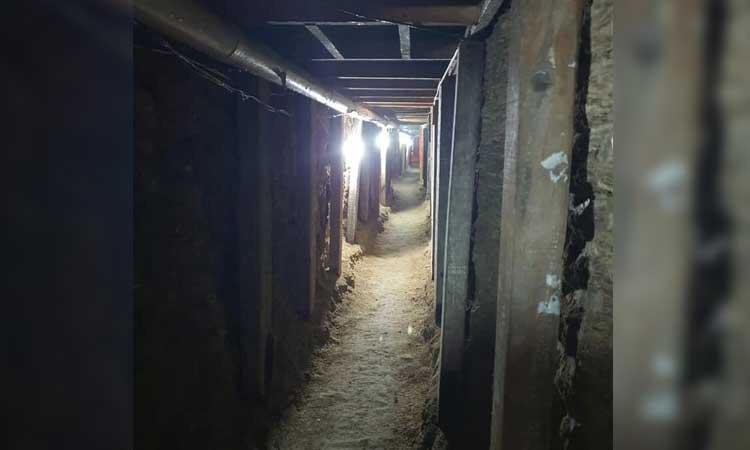 En Celaya, viralizan túnel para intentar robar bóveda de SEPSA