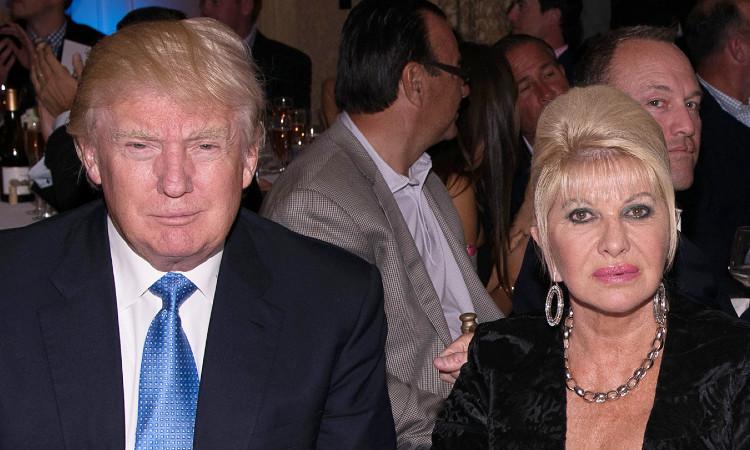 """: Ivana Trump confianza que su exesposo """"no es un buen perdedor"""""""