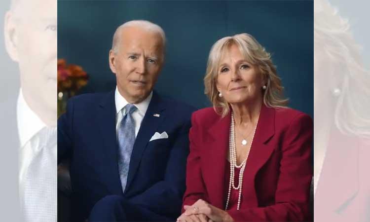 Joe Biden y su esposa Jill pasan Acción de Gracias en la pequeña ciudad costera de Rehoboth, Delaware.