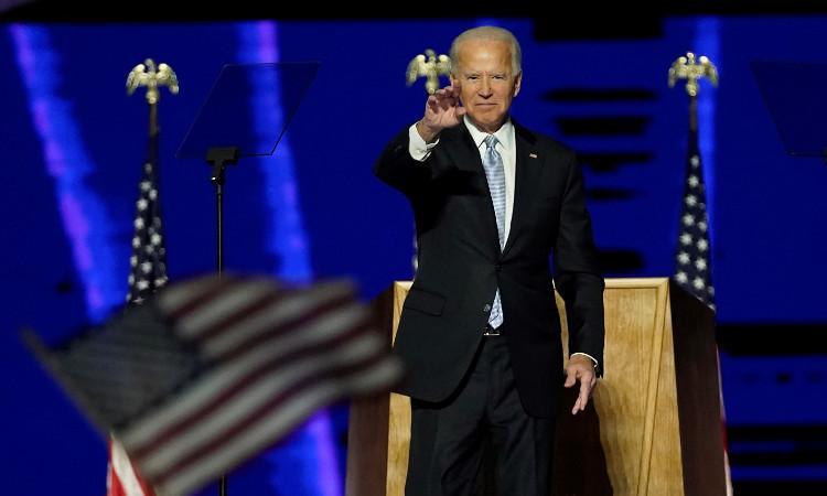 Joe Biden, virtual presidente electo de Estados Unidos.