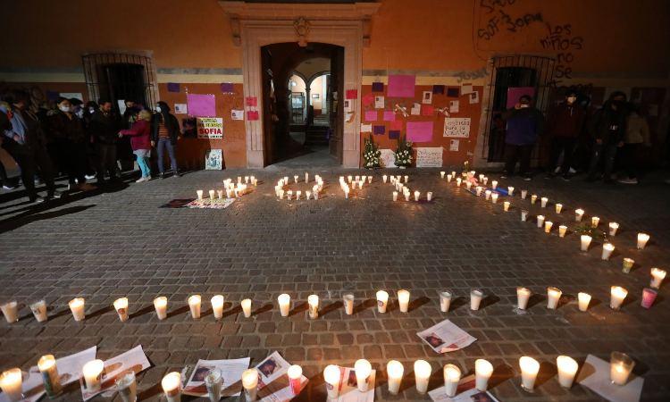 En Zacatecas, siguen manifestaciones por feminicidio de Sofía