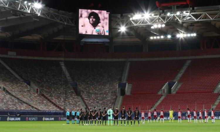 La muerte de Maradona sorprendió al futbol mundial