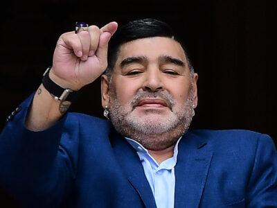 Maradona Coágulo Cabeza