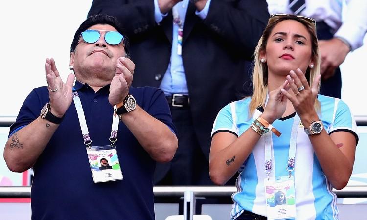 Maradona Rocio Oliva 1