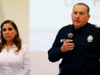 eduardo santamaria director policia municipal benito juarez cancún