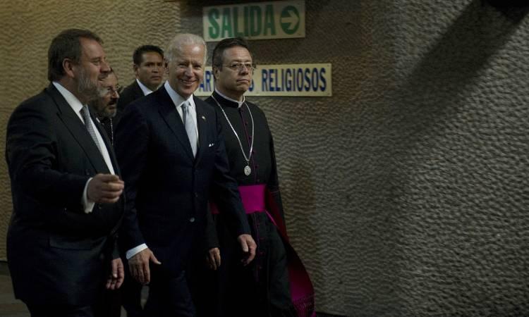 Joe Biden Basílica de Guadalupe