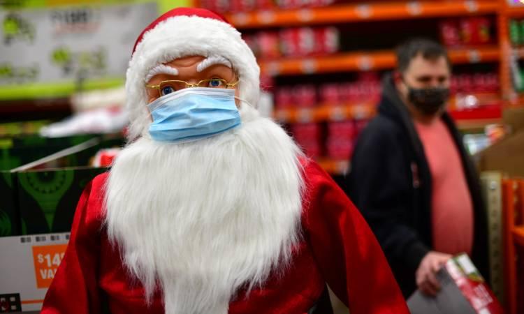 Reino Unido Santa Claus COVID-19