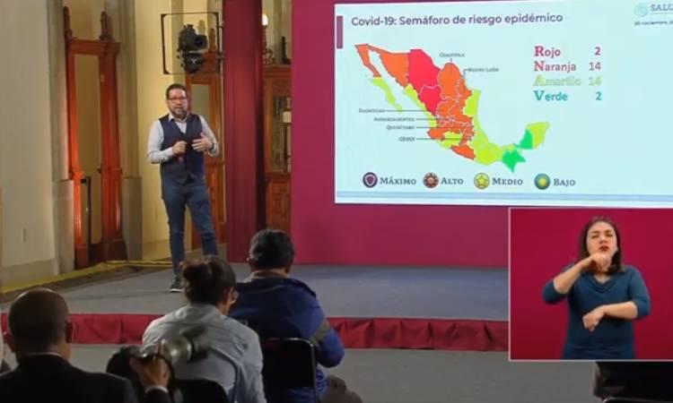 coronavirus México