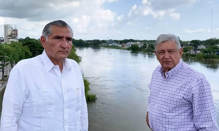 AMLO inundaciones Tabasco