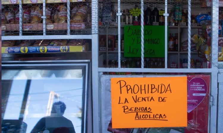 Alcaldías Ley Seca