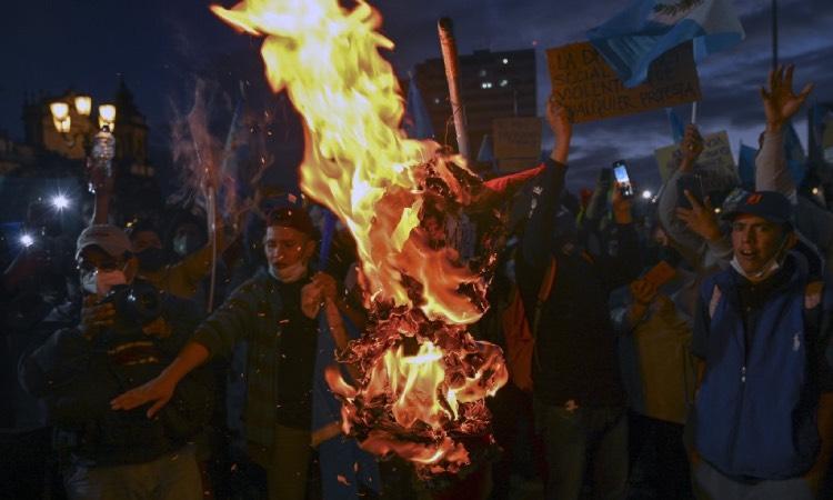 Protestas Guatemala