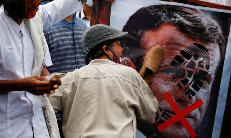 Al Qaeda Emmanuel Macron Mahoma