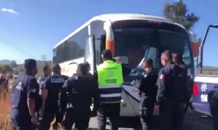 Detención de normalistas