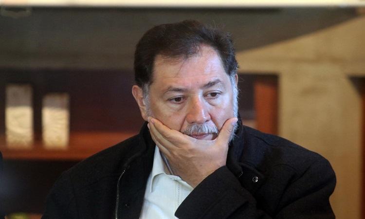 INE detiene sesión porque Fernández Noroña no traía cubrebocas